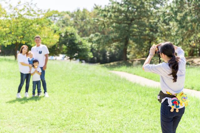 出張カメラマン、家族写真、葛西臨海公園