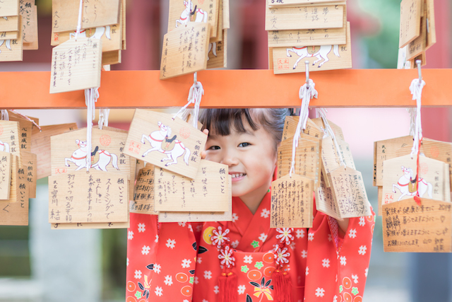 日枝神社 七五三 出張撮影