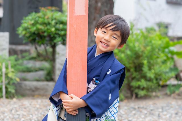 千住神社で5歳男の子の七五三☆撮影レポート(東京・足立区)