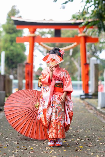 東京 練馬区 練馬春日町 高松神社 七五三 出張撮影