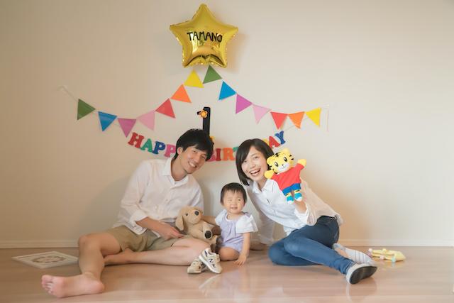 誕生日撮影 東京 出張撮影 家族写真