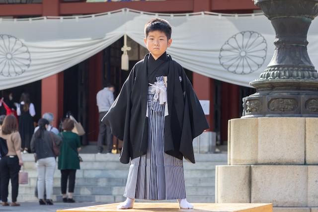 日枝神社で7歳男の子の七五三撮影☆撮影レポート(東京・千代田区)