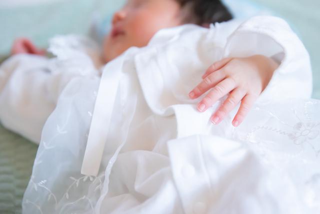 練馬区 カメラマン お宮参り 新生児 出産 育児 セレモニードレス 日常写真