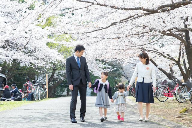 光が丘で入学撮影〜家族写真編〜♡撮影レポート(練馬区・光が丘)