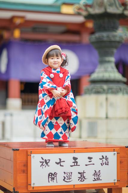 東京 出張撮影 七五三 千代田区 日枝神社 子供