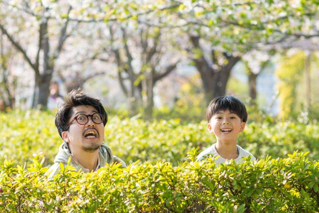 江戸川区 大島小松川公園 カジュアルフォト 公園撮影