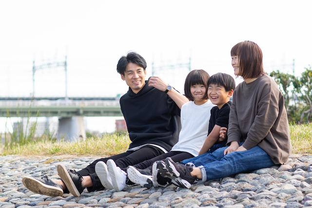 出張撮影 公園撮影 二子玉川 兵庫島公園 家族撮影
