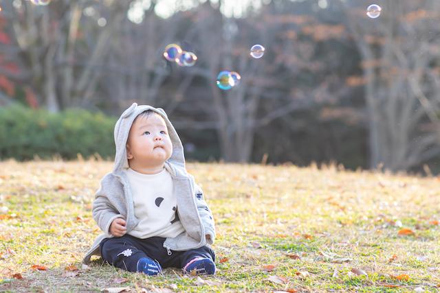 東京 練馬区 光が丘公園 年賀状写真 出張撮影