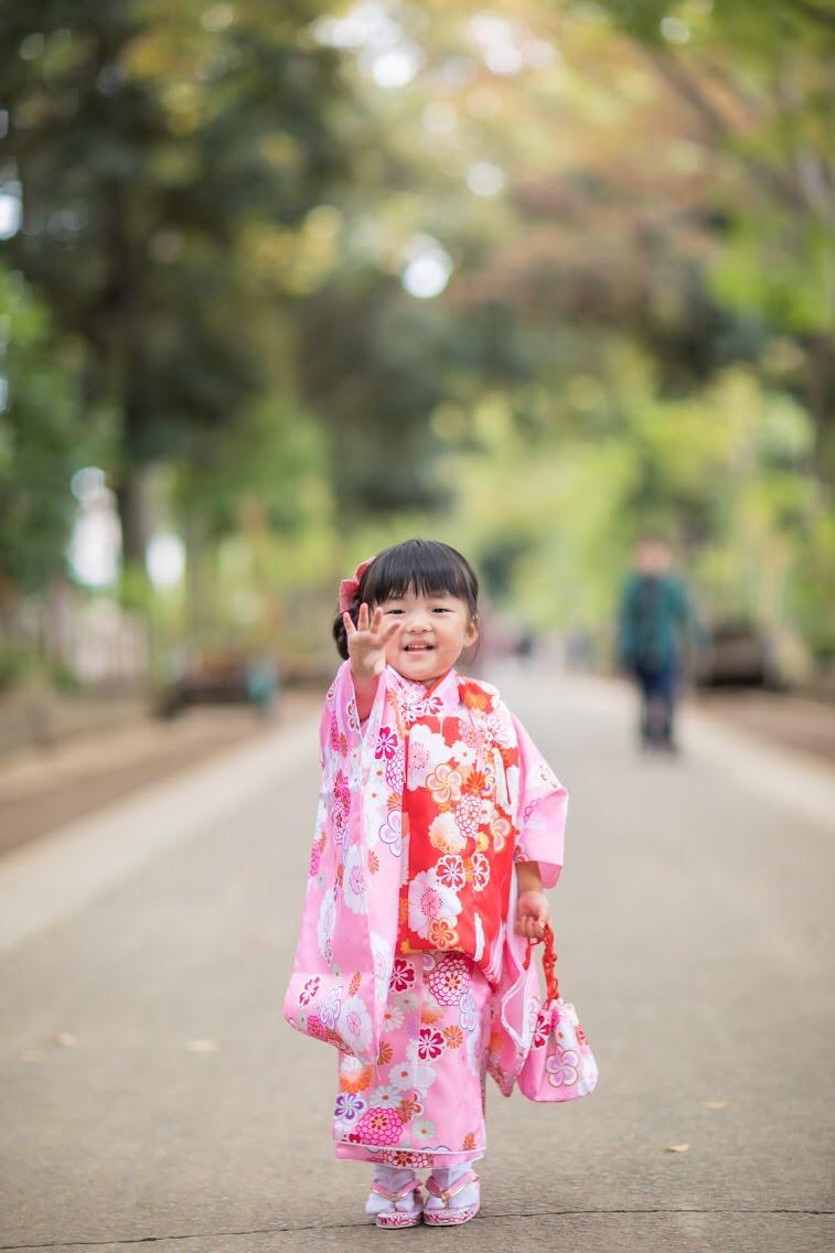 七五三 出張撮影 北野八幡神社