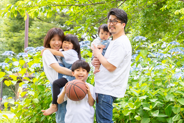 大島小松川公園で家族撮影♡撮影レポート(東京・江東区)