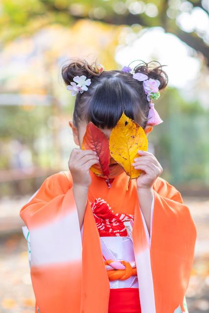 東京 大田区 旗岡八幡神社 七五三 出張撮影