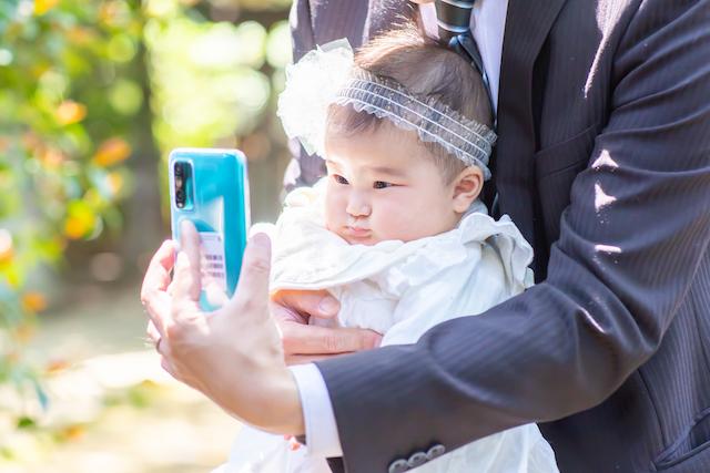 豊島区 長崎神社 お宮参り 出張撮影 女性カメラマン 子供