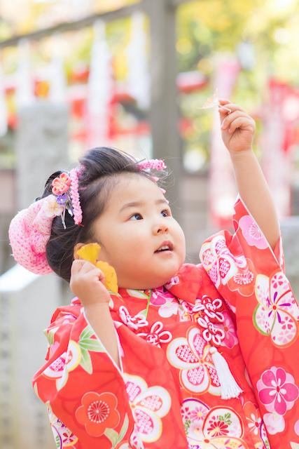 東京 出張カメラマン 豊島区 鬼子母神堂 子供
