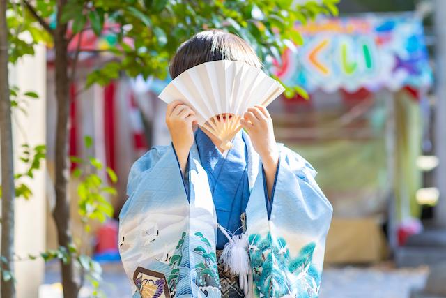 東京 武蔵野市 吉祥寺 武蔵野八幡宮 七五三撮影 出張撮影