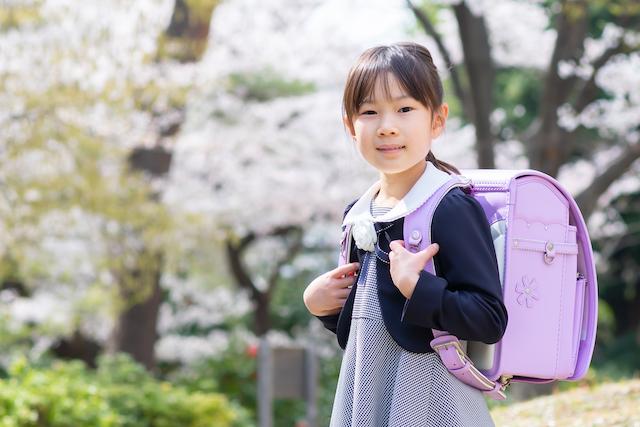 練馬区 光が丘 入学撮影 小学校 ランドセル 出張撮影 こども 桜