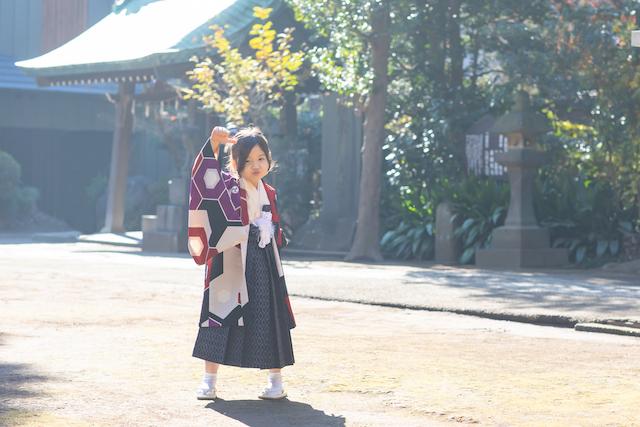 七五三 出張撮影 家族写真 カメラマン 料金安い 板橋区 城山熊野神社