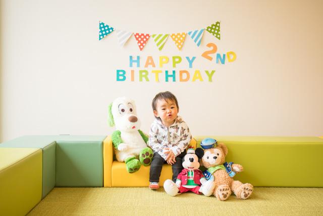 自宅撮影、成長記録、誕生日写真、家族写真