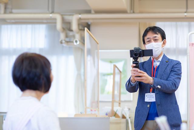 東京 練馬区 出張撮影 カメラマン 授業風景