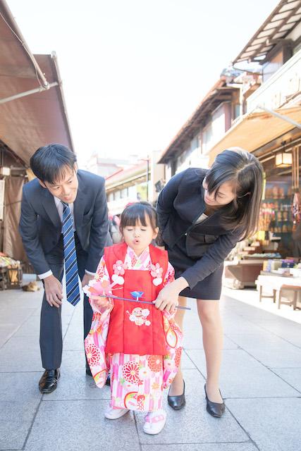 東京 出張撮影 七五三 子供 柴又帝釈天