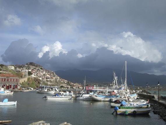 Molivos Hafen.