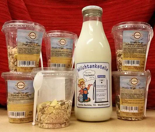 Milchtankstelle Bechtle Waldhausen