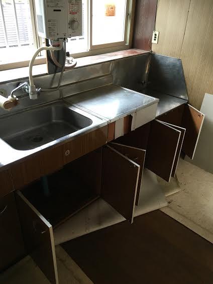 厨房改装前