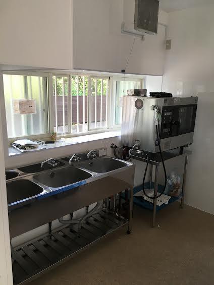 厨房改装後