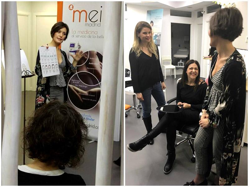 Beauty party en la clinica de medicina estética de Pozuelo de Alarcon Mei Madrid