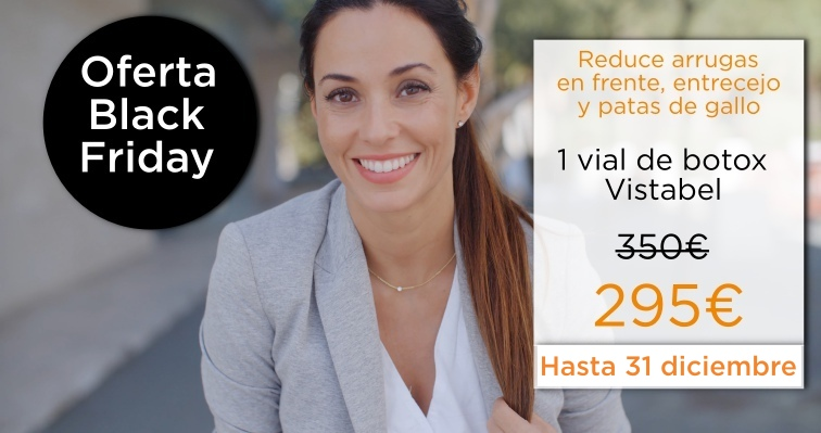 reducir arrugas botox vistabel allergan oferta black friday