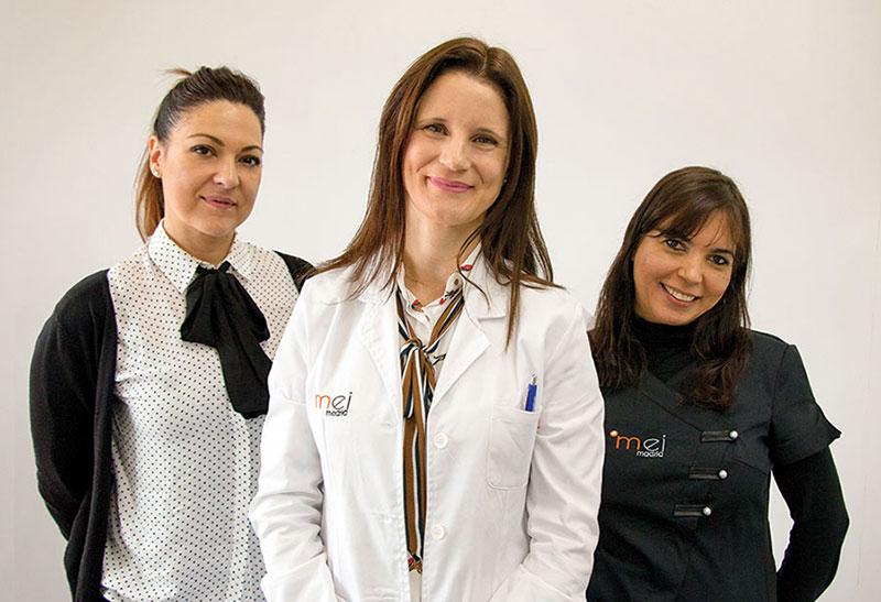 equipo médico clínica de medicina estética mei madrid