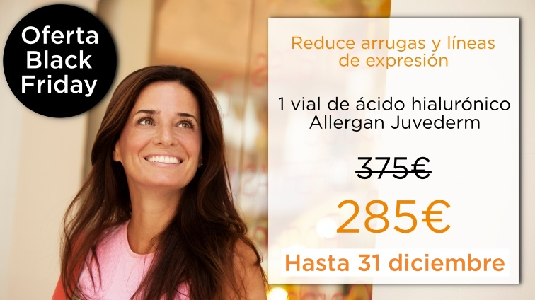 eliminar arrugas relleno de ácido hialurónico juvederm allergan