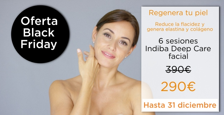 radiofrecuencia indiba deep care oferta black friday