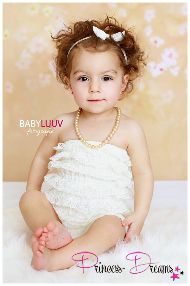 Sitter Mädchen Outfit Body Ruffle Lace Romper Baby Outfit für Fotografie Babyshooting