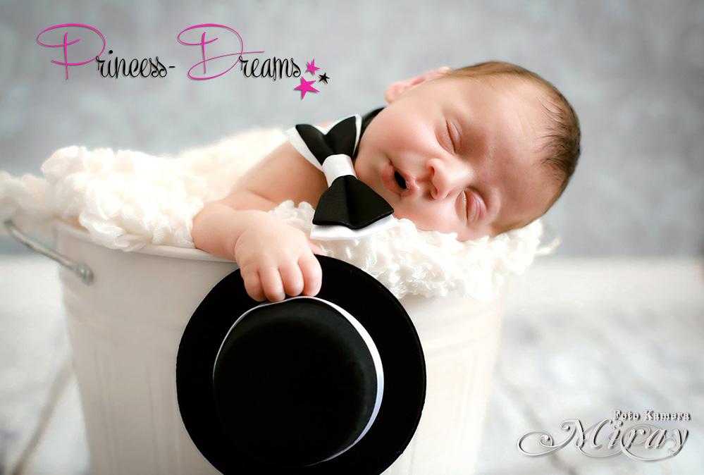 Neugeborenen Outfit, Neugeborenen Baby Set Hut Fliege Gentleman Foto-Set Junge