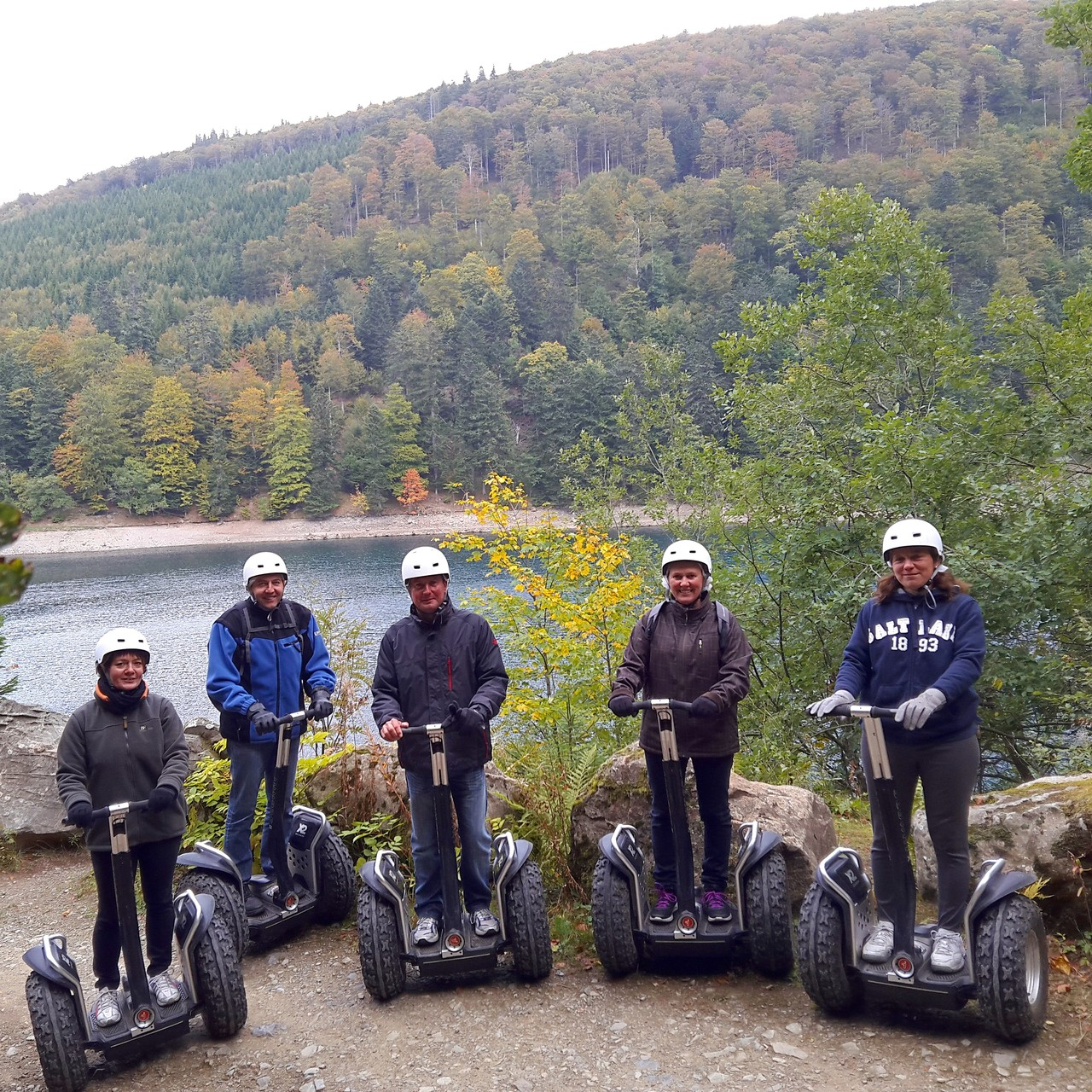 FUN MOVING GYROPODE SEGWAY EN ALSACE - Lac du Ballon, Vosges