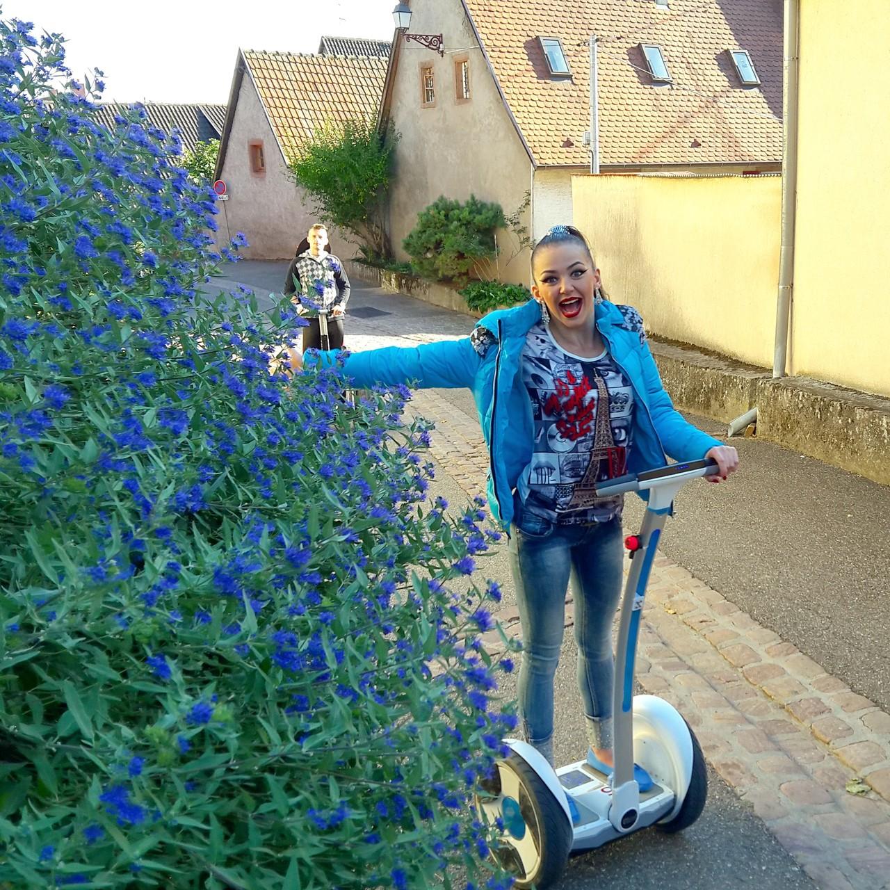 FUN MOVING GYROPODE SEGWAY EN ALSACE - Elsass Cancan, Le Paradis des Sources