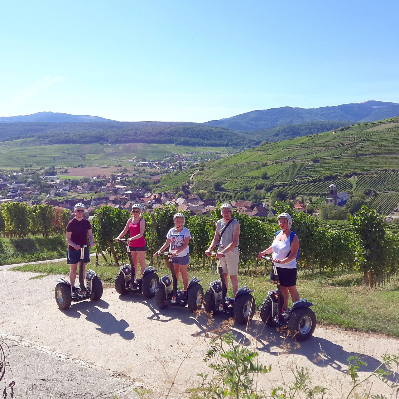 FUN MOVING GYROPODE SEGWAY EN ALSACE - vignoble d'Alsace, Westhalten