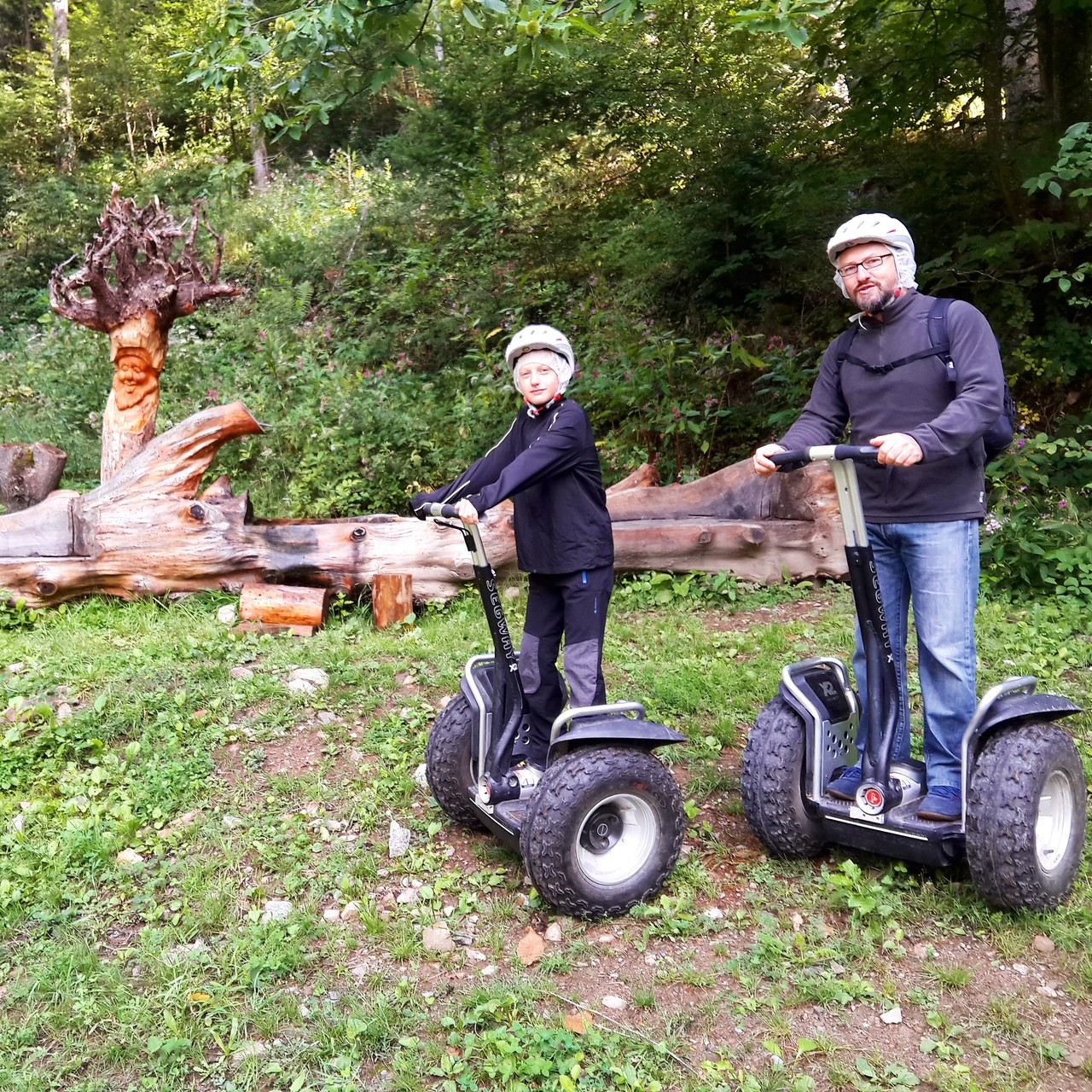 FUN MOVING GYROPODE SEGWAY EN ALSACE - vallée de la Doller, Masevaux