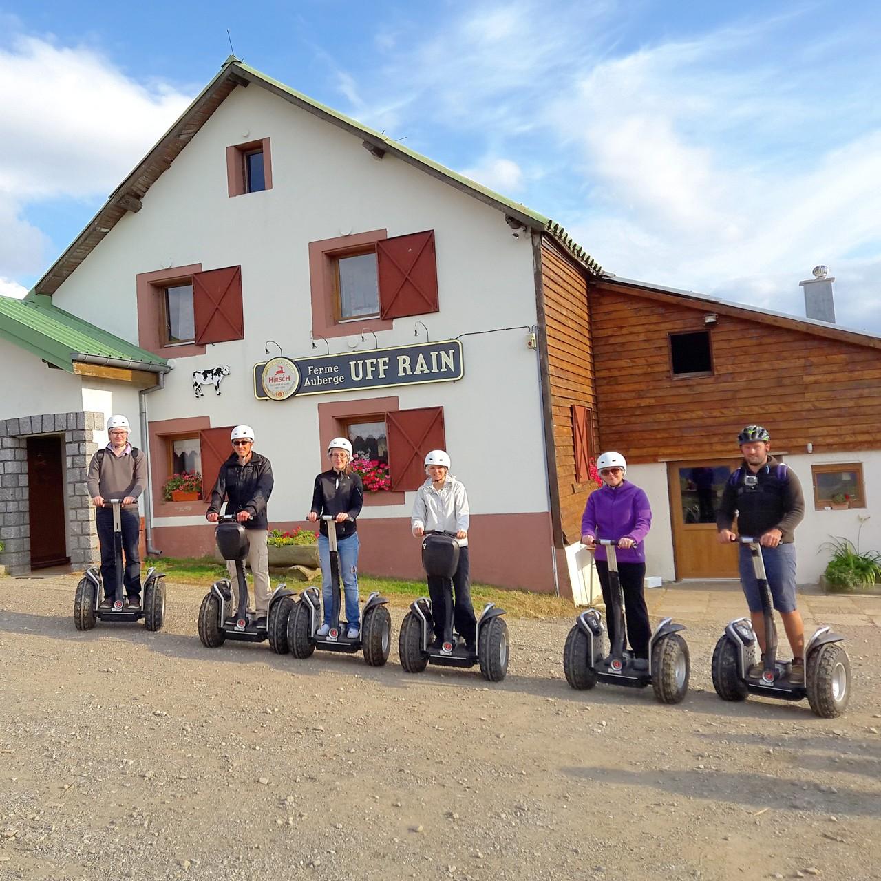FUN MOVING GYROPODE SEGWAY EN ALSACE - ferme auberge Uff Rain, Vosges
