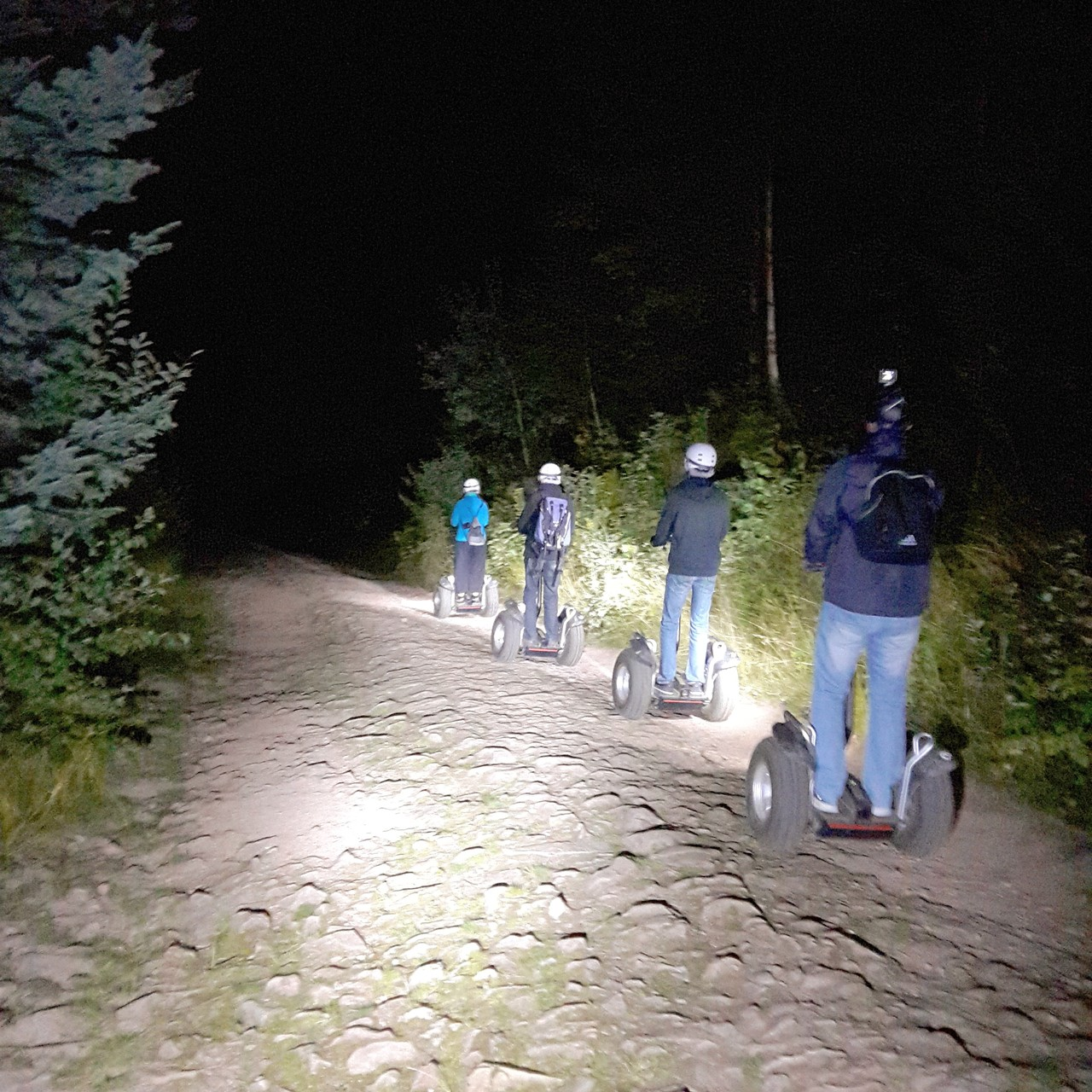 FUN MOVING GYROPODE SEGWAY EN ALSACE - circuit nocturne, Vosges