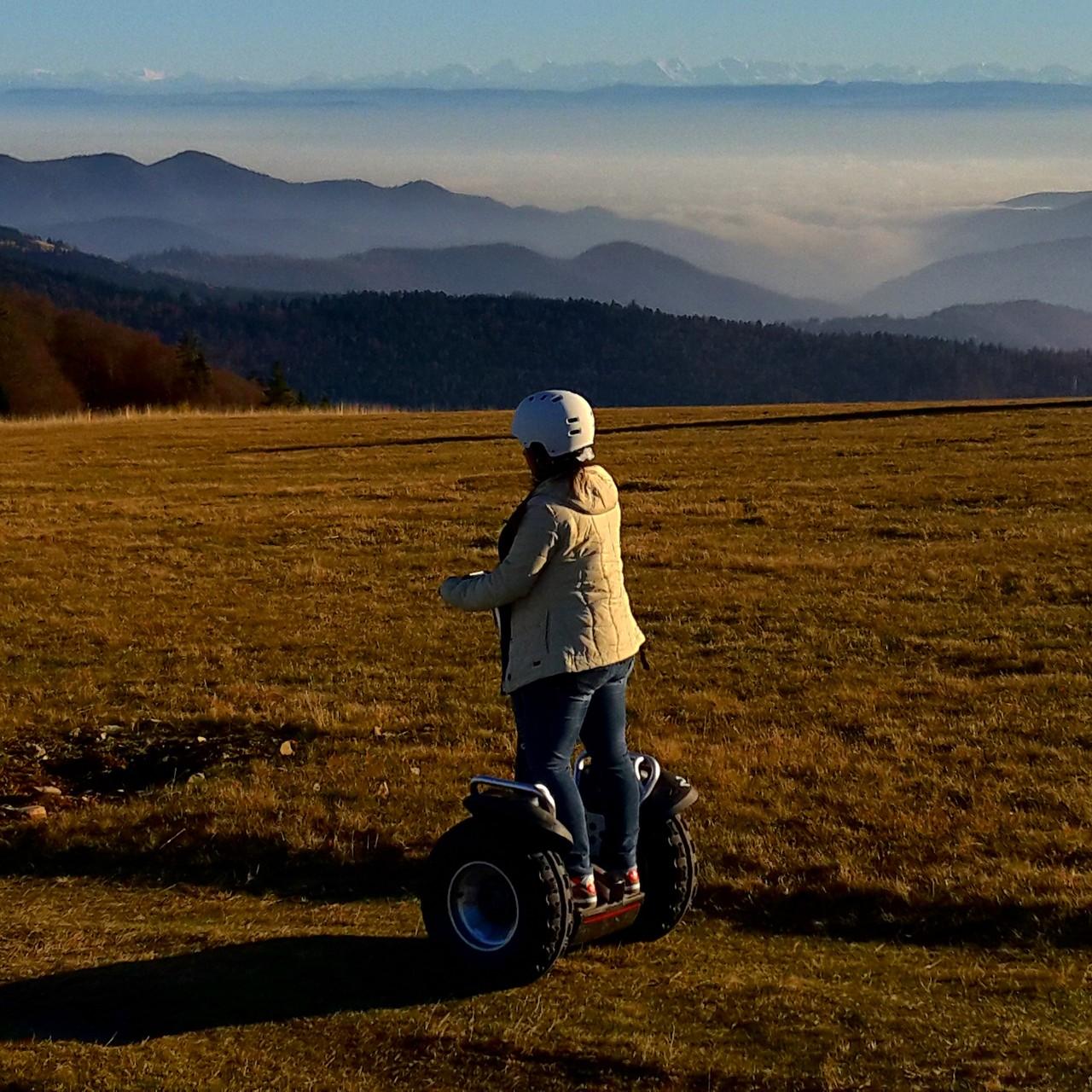 FUN MOVING GYROPODE SEGWAY EN ALSACE - Le Markstein, Vosges