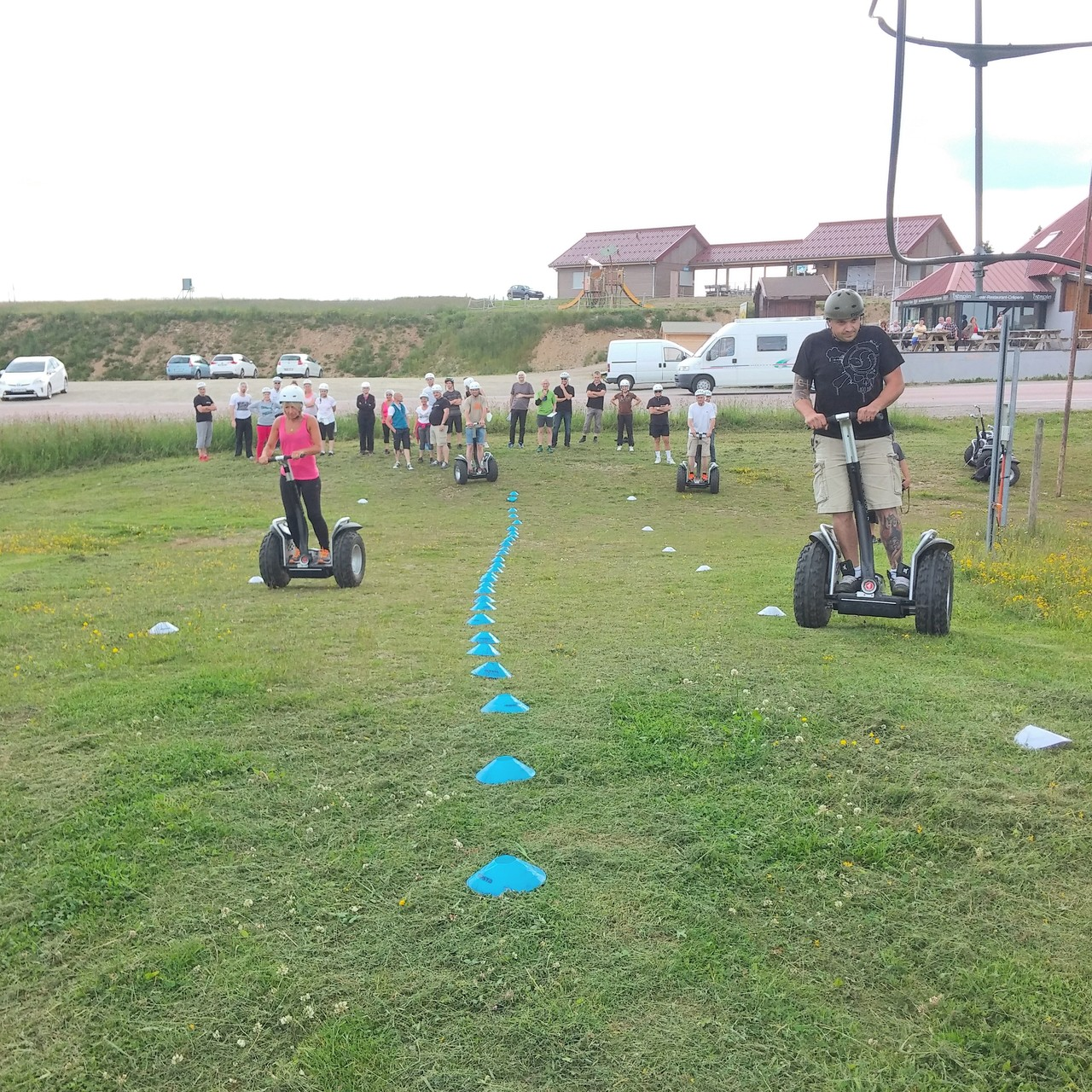 FUN MOVING GYROPODE SEGWAY EN ALSACE - team building, incentive, séminaire