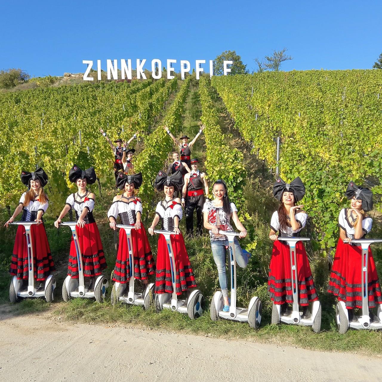 FUN MOVING GYROPODE SEGWAY EN ALSACE - vignoble d'Alsace, Le Paradis des Sources