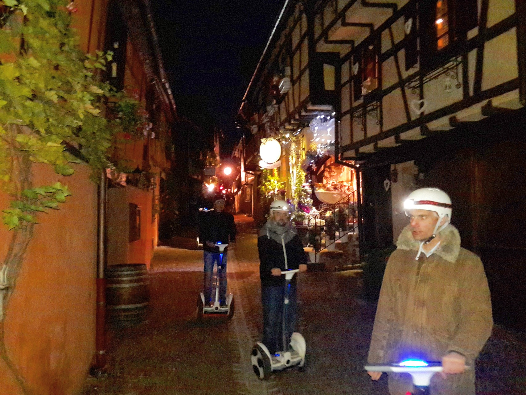 FUN MOVING GYROPODE SEGWAY EN ALSACE - Riquewihr, team building, incentive, séminaire