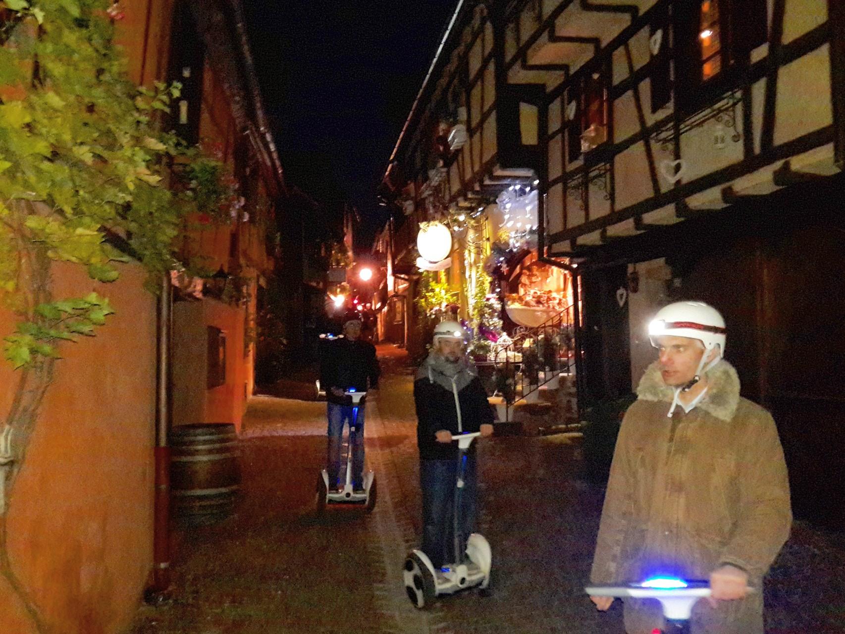 FUN MOVING GYROPODE SEGWAY EN ALSACE - Riquewihr, team building, incentive, séminaire