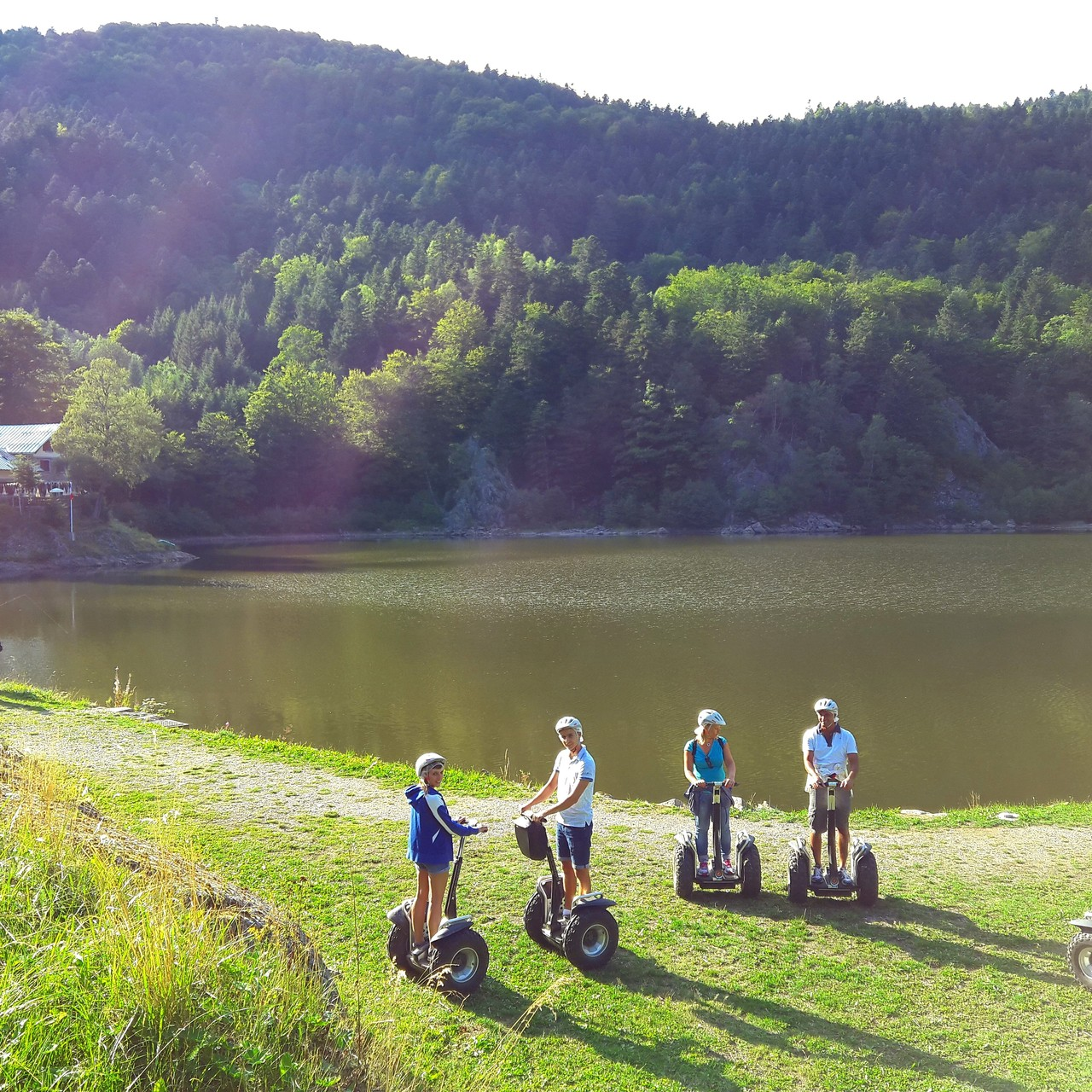 FUN MOVING GYROPODE SEGWAY EN ALSACE - Lac Grand Neuweiher, Vosges