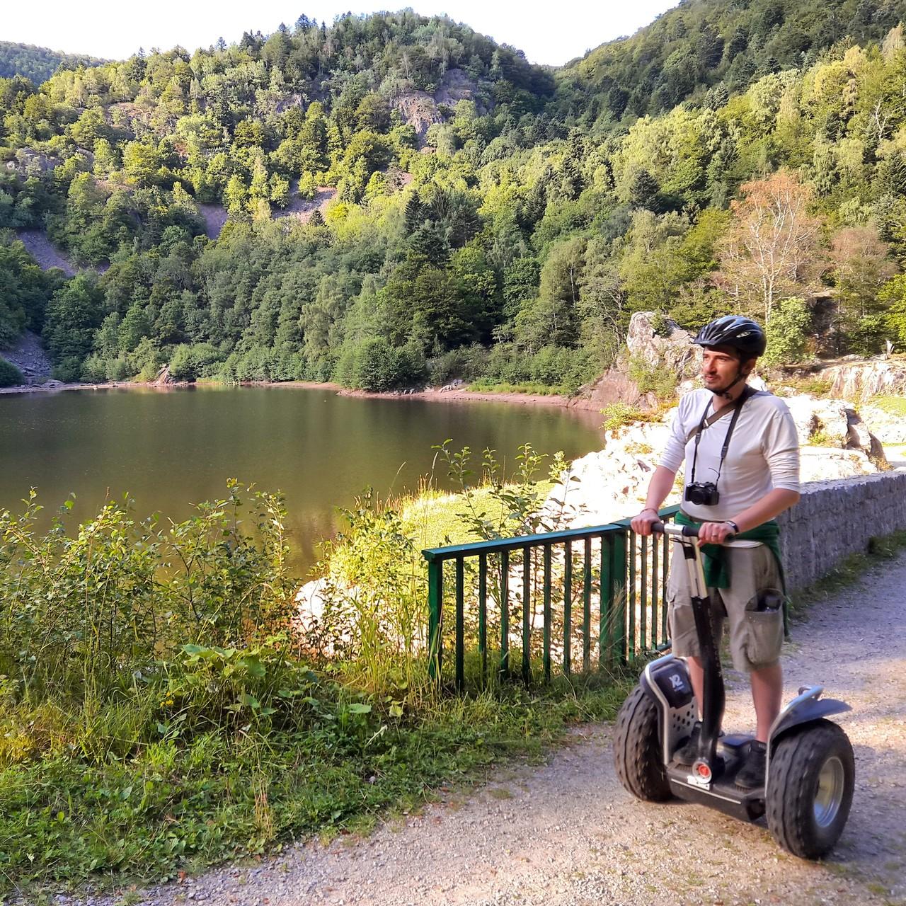 FUN MOVING GYROPODE SEGWAY EN ALSACE- Lac GrandNeuweiher, Vosges