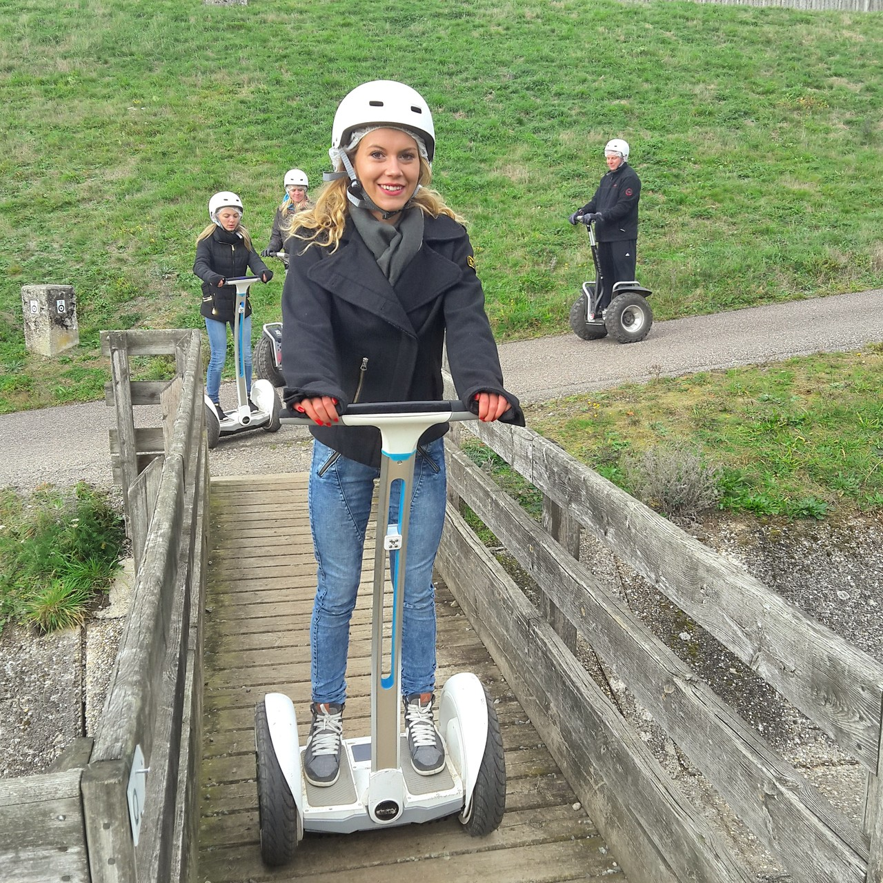 FUN MOVING GYROPODE SEGWAY EN ALSACE - barrage de Michelbach