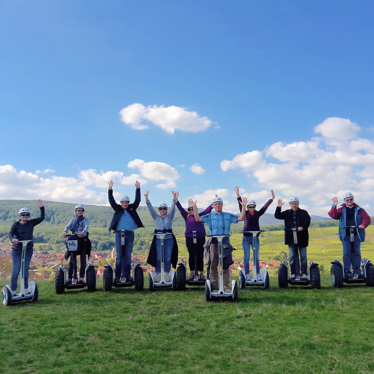 FUN MOVING GYROPODE SEGWAY EN ALSACE - team building, incentive, séminaire
