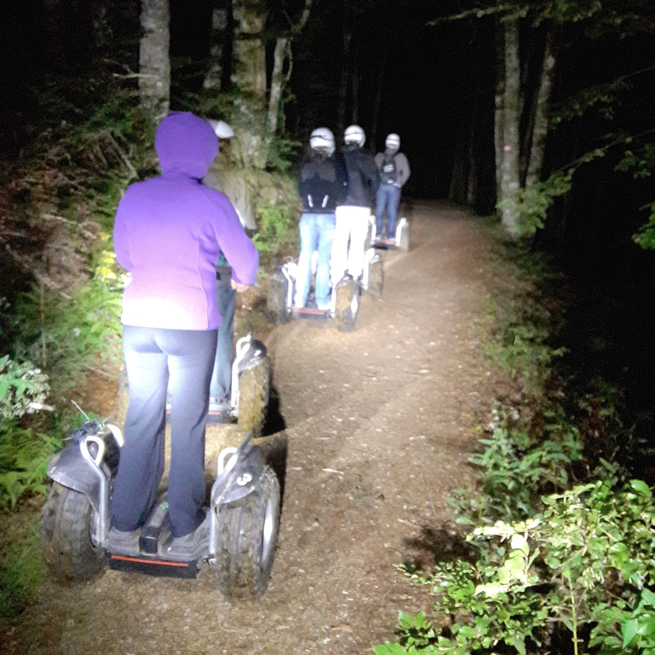 FUN MOVING GYROPODE SEGWAY EN ALSACE - ferme auberge, nocturne, Vosges